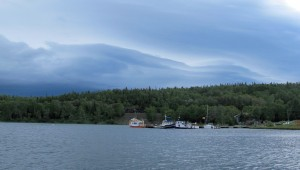 Weather approaching Rossport